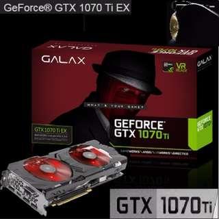 GALAX GTX 1070 Ti EX GeForce® 8GB.
