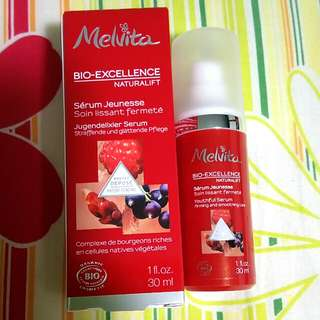 🈹 ** 清貨大減價**  melvita bio - excellence naturalift  serum 抗皺精華 30ml