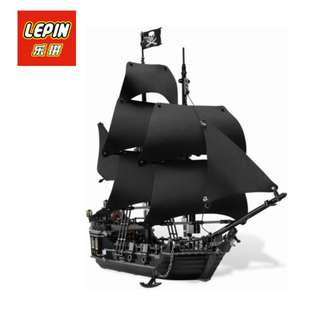 New LEPIN Pirates Of Caribbean Black Pearl Ship Building Blocks FREE Shipping