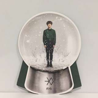 [EXO] Miracles In December Suho Standing Photocard 2014