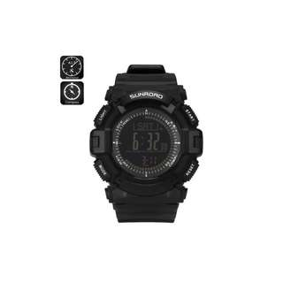 SUNROAD Digital Outdoor Sports Watch FR861 B With Compass
