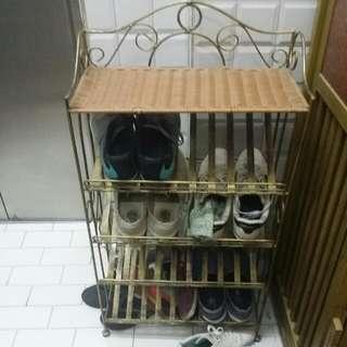 減價速銷……鐵藝鞋架