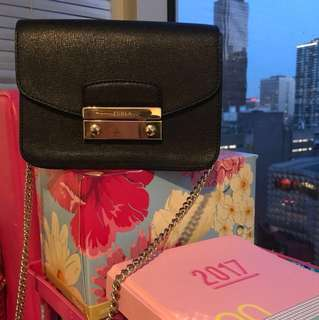 Authentic Furla Cross-Body Bag