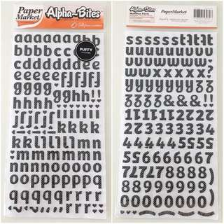 Alphabet Stickers (Jellybean Licorice)