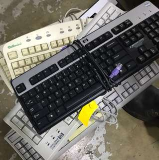 Used computer keyboards and mouse for sales !