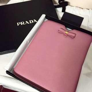 🈹Prada Pink iPad Case Bag粉紅色iPad袋