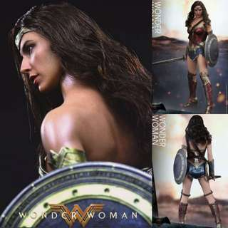 Hottoys WONDER WOMAN 1/6TH SCALE COLLECTIBLE FIGURE