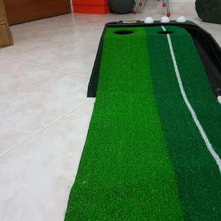 Golf putting (Train anywhere indoor)
