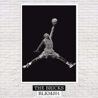 Michael Jordan (A4 Size) Poster