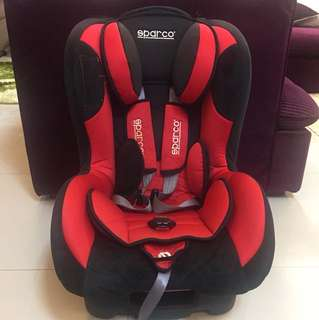 SPARCO Red Car Seat 2013