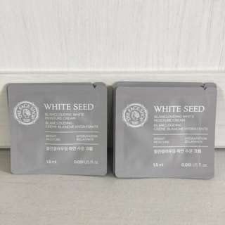 The Faceshop White Seed Blanclouding White Moisture Cream (new)