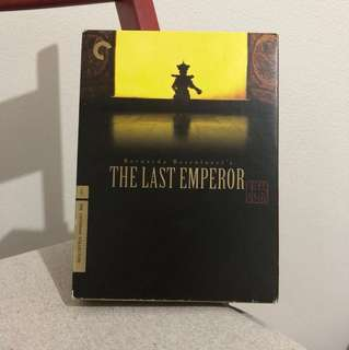 Criterion Collection - The Last Emperor DVD collectible item