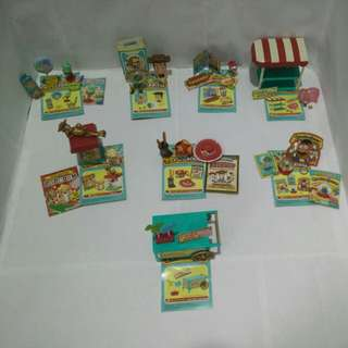 Toy story carnival(Re-Ment) Miniature Toy