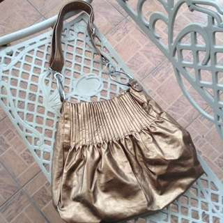 Bronze Shoulder Handbag