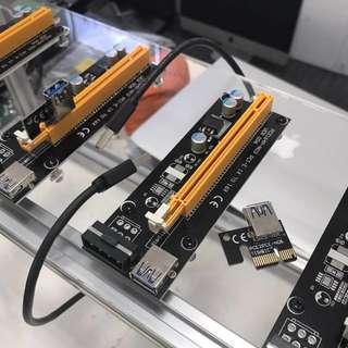 USB Riser GPU 16x To 1x For Mining