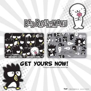 BN Sanrio Bad Badtz Maru Limited Edition Ezlink Card (2 Cards)