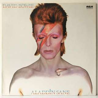 David Bowie – Aladdin Sane (1981 Germany Vinyl LP)