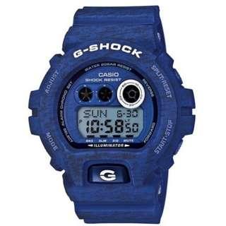 Casio G Shock * GDX6900HT-2 Heathered Blue Resin XL Watch