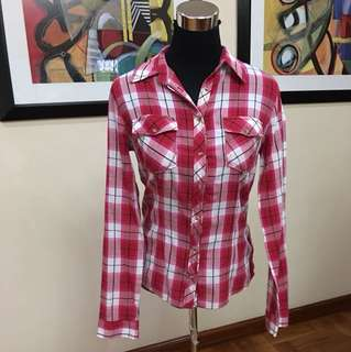 Terranova Plaid blouse
