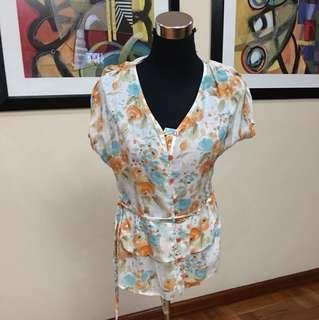 Celine floral blouse