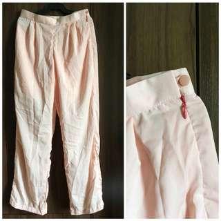 Peach Boho Pants