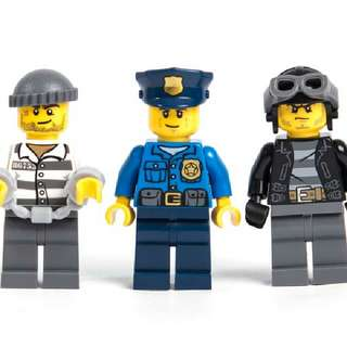 Lego City 60043 Minifigures Set of 3