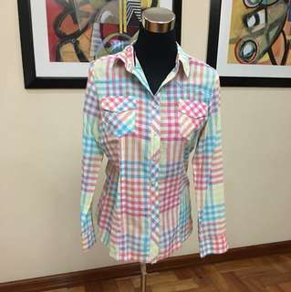 Candy colored blouse
