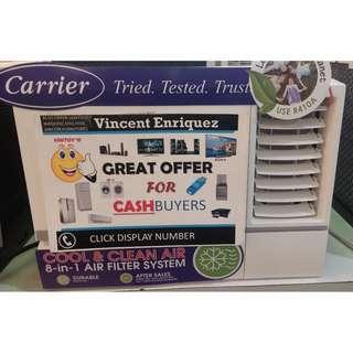 CARRIER iCOOL GREEN SERIES MANUAL timer window type aircon  model: Wcarho10ec 1HP