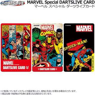 Dartslive Marvel Special Card