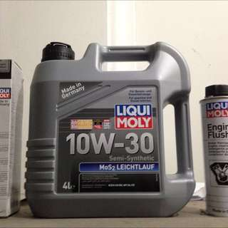 Liqui Moly 10W-30 Mos2 4L Engine Oil