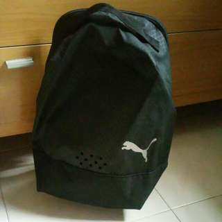 PUMA BLACK SHOE BAG
