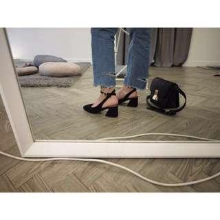 法式氣墊跟鞋