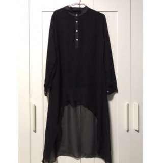 Fishtail blouse