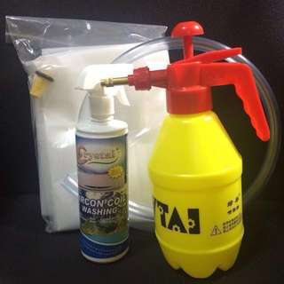 Aircon service D.I.Y Aircon wash kit (value pack) S$78/set