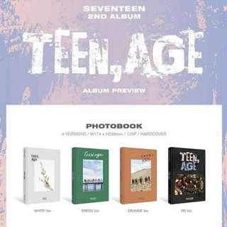 [Ready stock] Seventeen Teen, Age