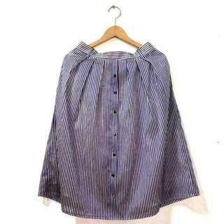 Trendy Korean Midi Skirt