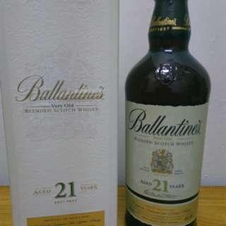 Ballantine's 21y調和whisky700ml