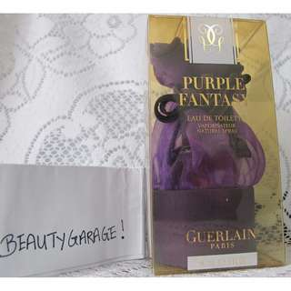 RARE 2001 Guerlain Purple Fantasy 30ml edt women perfume vintage discontinued !
