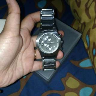 Preloved Authentic Original DKNY Chronograph Watch