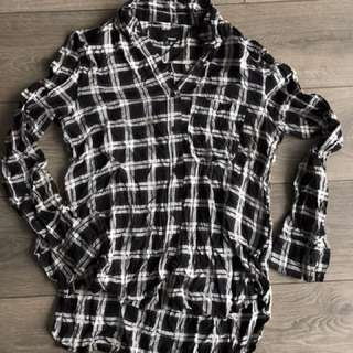 ARITZIA: Wilfred Free Plaid Shirt