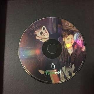 WTT PENTAGON FIRST MINI ALBUM YUTO/ KINO CD PLATE