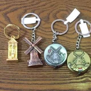 歐洲購入 英荷鑰匙圈4款-英國衛兵 #雙十一大出清