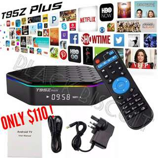 🚚 Lifetime No Subscription: Android TV Box T95Z Plus S912 2GB/3GB RAM