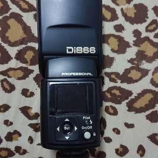 Di866  for nikon 閃燈