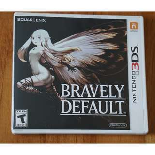 bravely Default 3ds version US ntsc