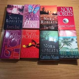 Nora Roberts, Anne Rice, Buffy Vampire Slayer, Bridget Jones Diary, Isolde Martyn, Cory Daniells Books