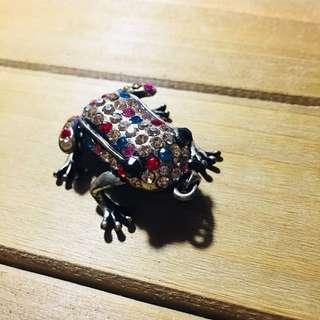 Frog Studded Pendant