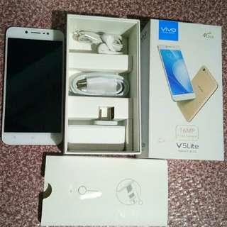 vivo v5 lite complete package for sale negotiable