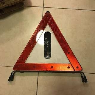 Mercedes Emergency/ breakdown sign