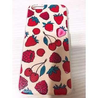 I6s 4.7寸草莓紅莓手機硬殼